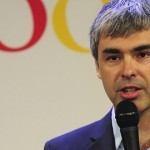 Larry Page chats with Charlie Rose